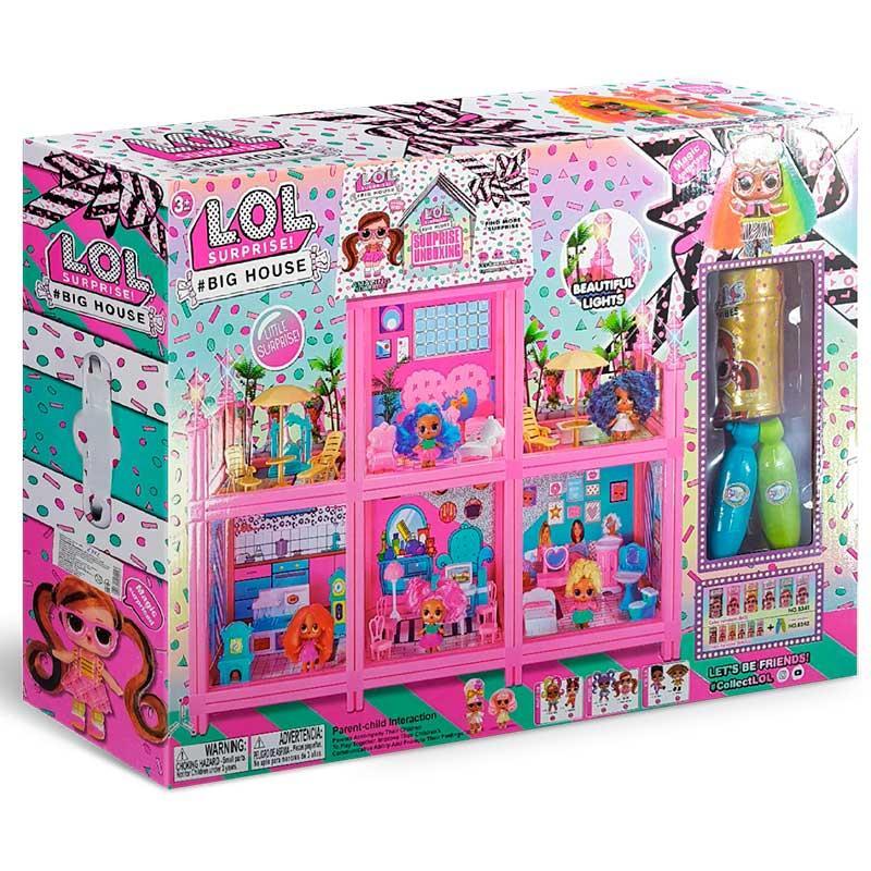 Большой кукольный домик 8342, свет, звук