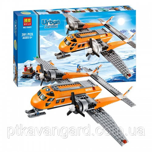 Конструктор Bela Urban Arctic 10441 Арктичний літак 391 деталь