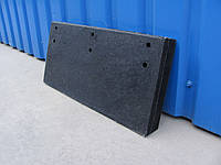 Резина на отвал (520x250x50мм) скребок для снегоуборочной машины