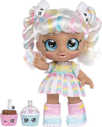 Кукла Кинди Кидс Марша Меллоу Зефирка Время друзей Kindi Kids Marsha Mello Snack Time Friends 50009, фото 2