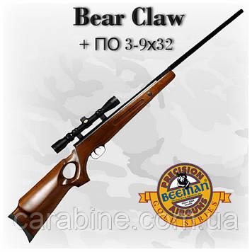 Beeman Bear Claw с оптическим прицелом ПО-(3-9X32) (Биман Бир Клау)