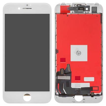 Дисплей (екран) для Apple iPhone 7 з сенсором (тачскрін) білий, фото 2