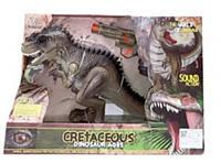 "Динозавр ""Охота на динозавра "" с пистолетом"