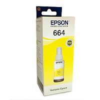 Контейнер з чорнилами Epson для L100/L200 70ml Yellow C13T66444A (6644), фото 1