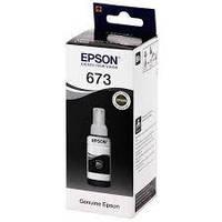 Контейнер з чорнилами Epson для L800/L805 70ml Black C13T67314A (6731), фото 1