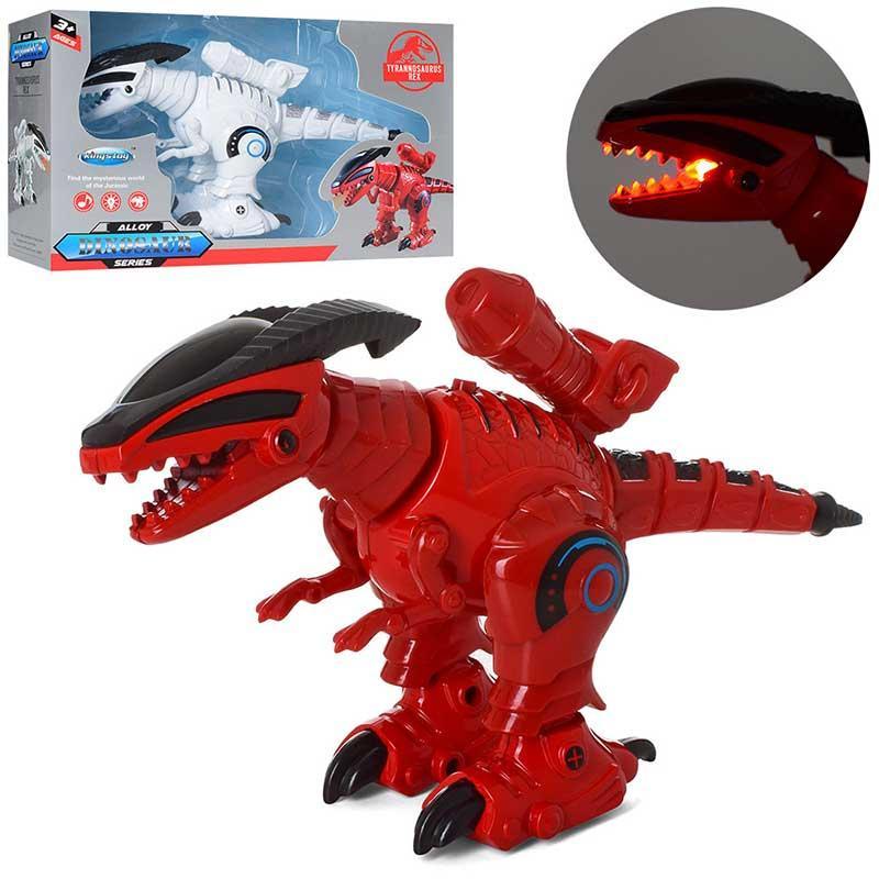 Динозавр FY258 (звук,св,ходить,дим, стріляє,на батарейках)