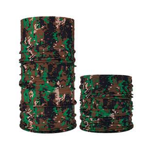 Бафф бандана-трансформер, шарф из микрофибры, 4 камуфляж