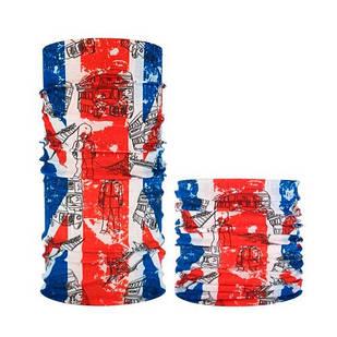 Бафф бандана-трансформер, шарф из микрофибры, 9 Лондон
