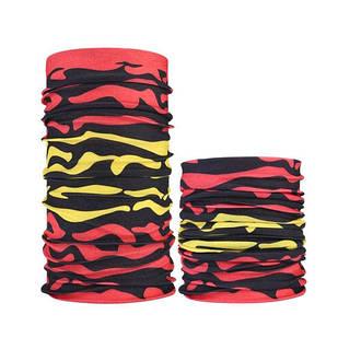 Бафф бандана-трансформер, шарф из микрофибры, 11 зебра
