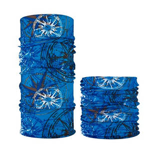 Бафф бандана-трансформер, шарф з мікрофібри, 14 компас