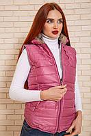 Жилетка женская 131R936 цвет Розовый, фото 1