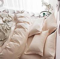 Двуспальное постельное Киттикет бежевый