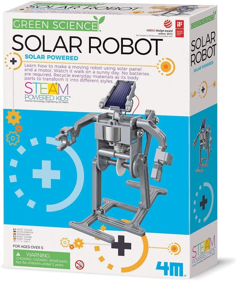 Научный набор Робот на солнечной батарее 4M 00-03294