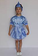 Карнавальный костюм для девочки Капелька на 5-6 лет