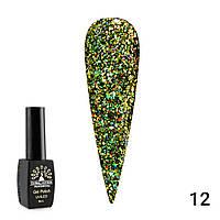Гель лак diamond ball Global fashion 8 мл 012 Гель-лак для ногтей Стойкий гель лак Маникюр