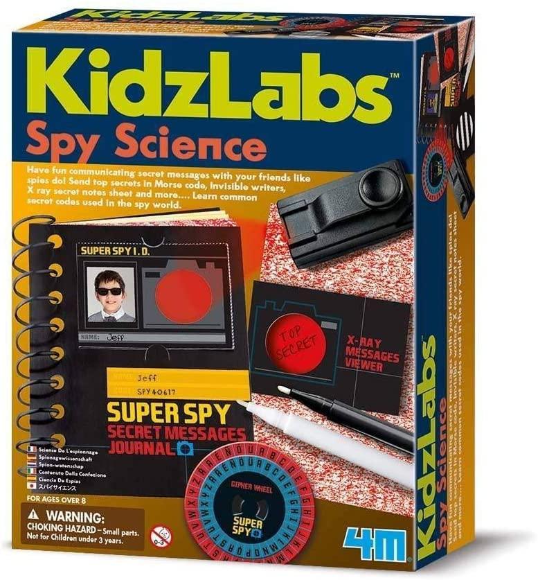Набор шпиона Секретные сообщения 4M 00-03295