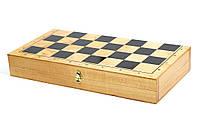 Доска для шашек, шахмат дерево (365мм х 365мм), фото 1