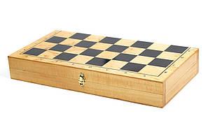 Доска для шашек, шахмат дерево (365мм х 365мм)