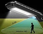Лампа уличная Solar Motion T-100B   Фонарь с датчиком движения   Уличный led светильник, фото 5