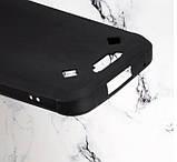 Силіконовий Бампер для Blackview BV9800, BV9800 Pro Чорний і Білий колір, фото 2