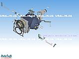 Сухар вилки 2-3 пер. КАМАЗ 14-1702029 (пр-во КАМАЗ), фото 2