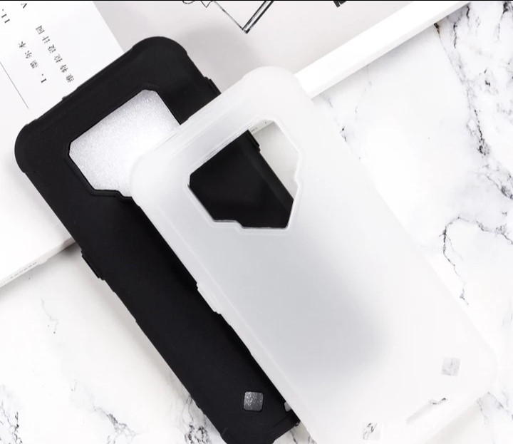 Силіконовий Бампер для Blackview BV9800, BV9800 Pro Чорний і Білий колір