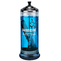 Barbicide Large Jar стеклянный 1100 мл - Контейнер для дезинфекции инструментов