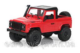 Машинка на радиоуправлении 1:12 MN Model Краулер D90 Defender полноприводный (красный)