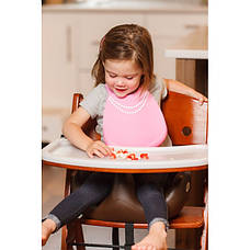 Нагрудник breakfast-at-moms-pink, фото 2