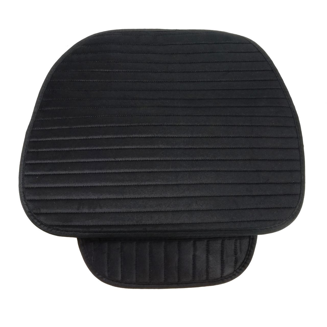 Коврик на сиденье в авто на прорезиненной основе защитный универсальный