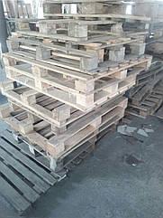 Піддони, європіддони, дерев'яні піддони Б/У, палета дерев'яна сладська