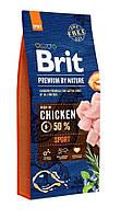 Brit Premium Dog Sport (Брит Премиум Спорт) для взрослых собак с высокими физическими нагрузками 15 кг