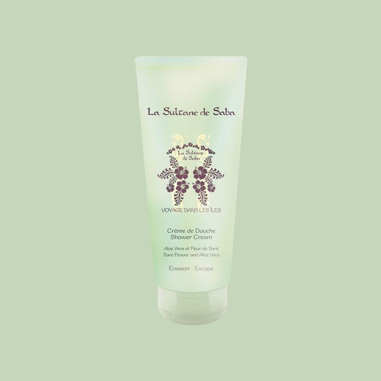 La Sultane de Saba Tiare Flower Aloe Vera Shower Cream - Крем-гель для душа «тиарэ и алоэ вера» 200мл