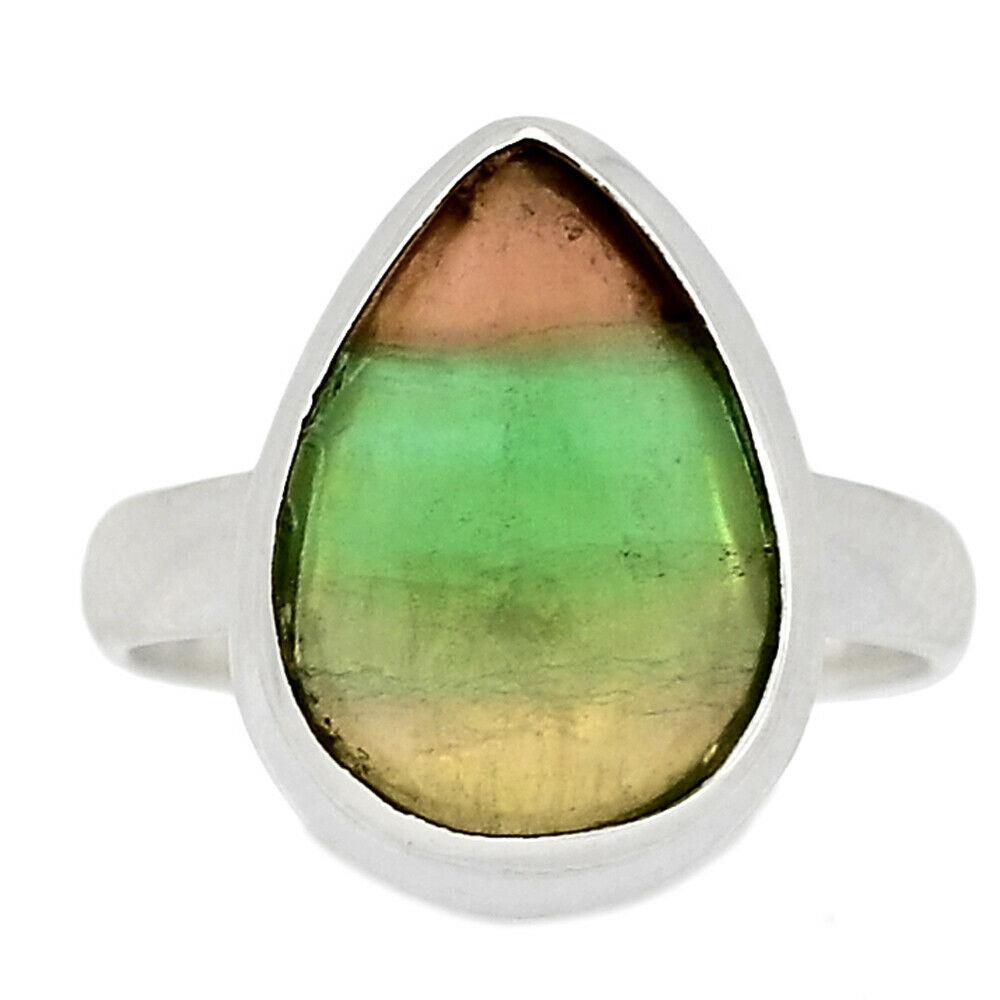 Серебряное кольцо с флюоритом, 2573КЦФ