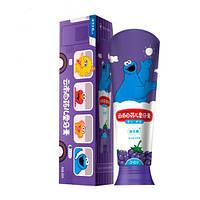 Набор зубных паст для детей 3-6 лет с виноградным вкусом, 60гр