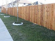 Дерев'яні паркани.