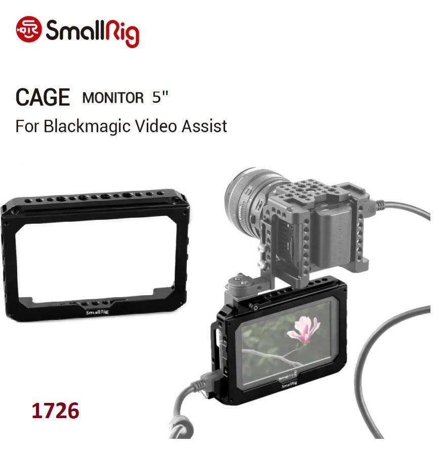 "Кейдж SmallRig 5"" Monitor Cage for Blackmagic Video Assist 5"" (1726)"