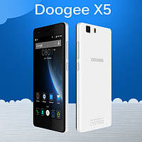 Подарки + Doogee X5 Android 5.1 HD1280*720 IPS 1/8ГБ
