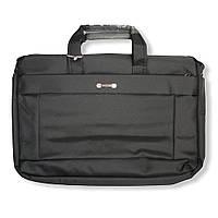 """Сумка- портфель для ноутбука, большая, до 17"""".  Сумка для документов. ( код: IBN004B )"""