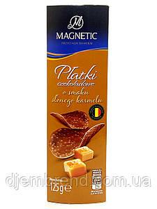 Шоколадные Чипсы Magnetic со вкусом соленой карамели, 125 г