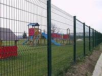 Забор панельный оцинкованный полимерным покрытием высота 4м Техна-Спорт