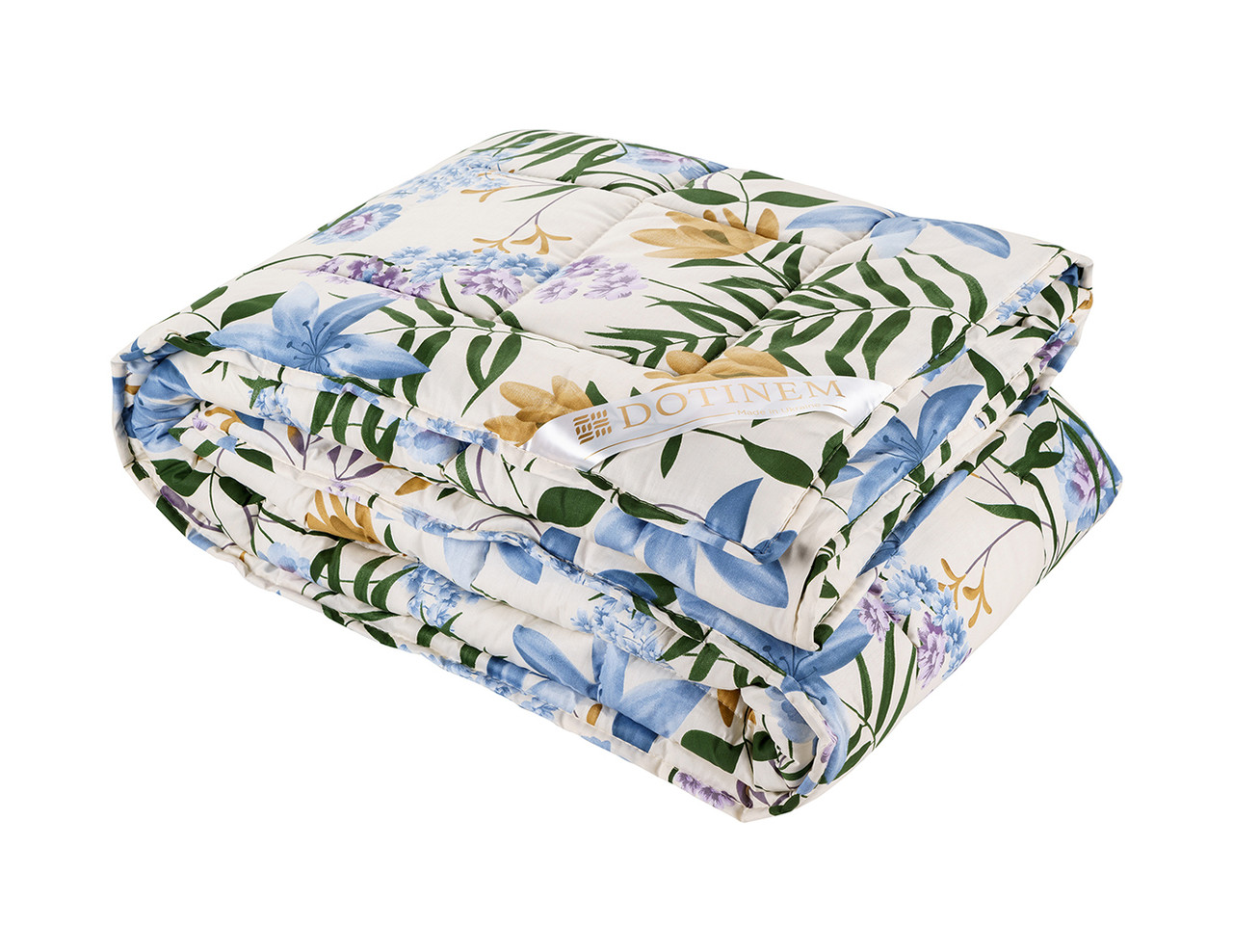 Одеяло теплое холлофайбер полутороспальное 145х210 см VALENCIA