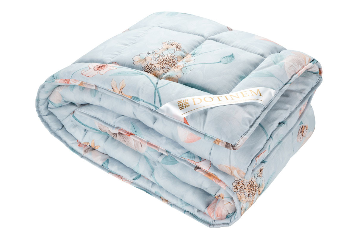 Одеяло зимнее холлофайбер евро 195х215 см VALENCIA