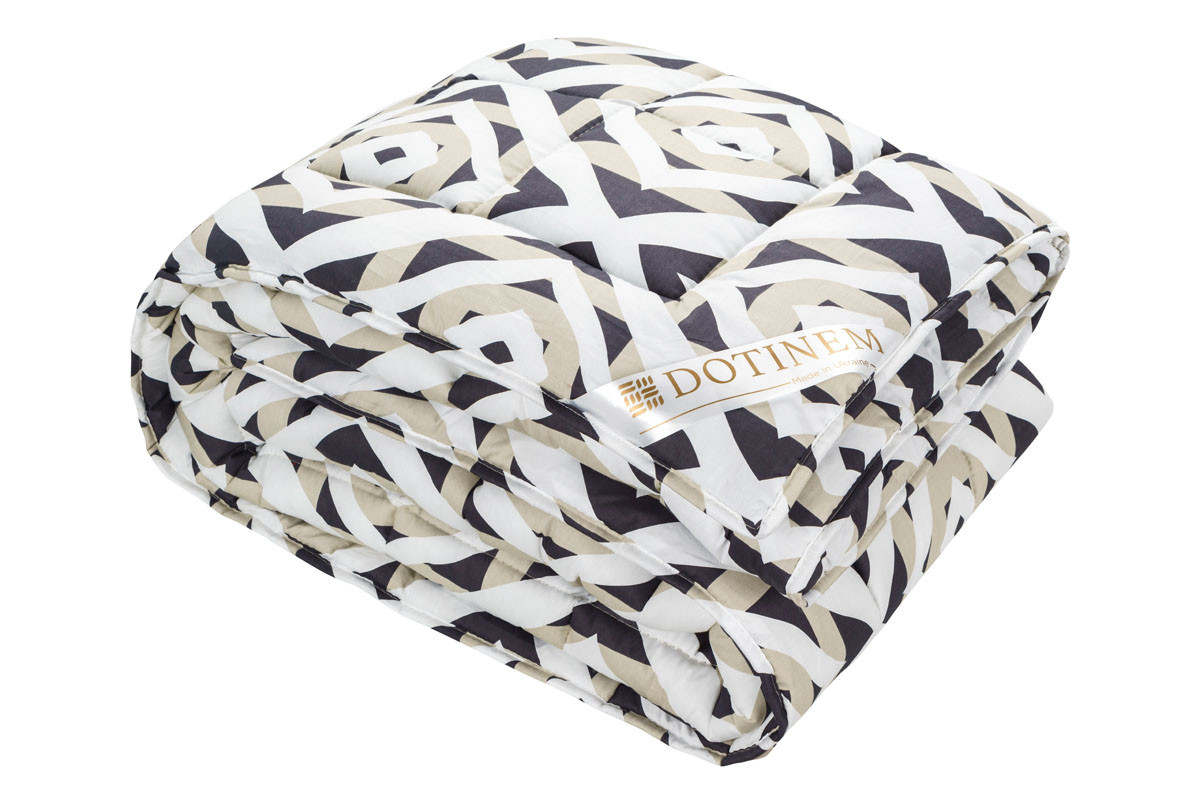 Одеяло теплое холлофайбер двуспальное 175х210 см VALENCIA