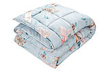 Одеяло холлофайбер полутороспальное 145х210 см VALENCIA, фото 3