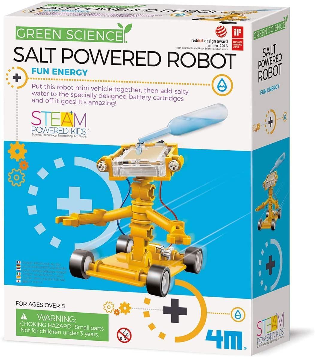 Научный набор Робот на энергии соли 4M 00-03353