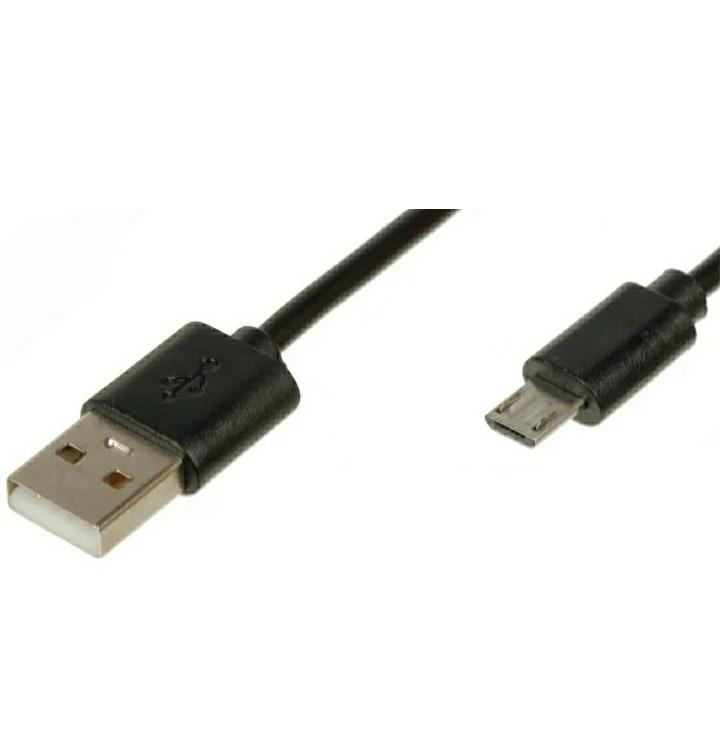 Micro USB кабель подовжений штекер 8 мм 2А
