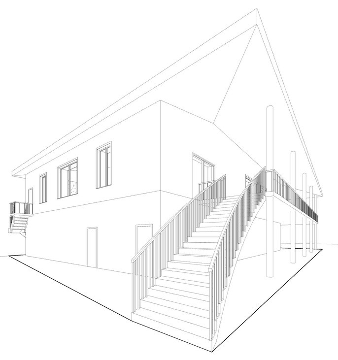 3D візуалізація фасаду