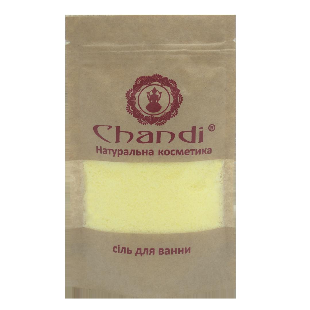 """Сіль для ванни """"Сандал і агарове дерево"""" Chandi, 60 г."""