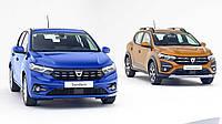 Нові Dacia Sandero та Dacia Stepway з'явились на фото